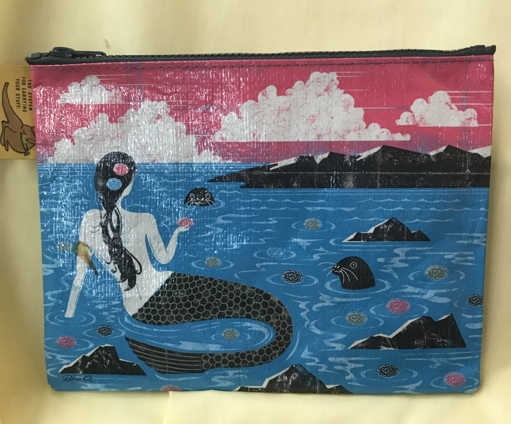 Mermaid Zippered Pouch