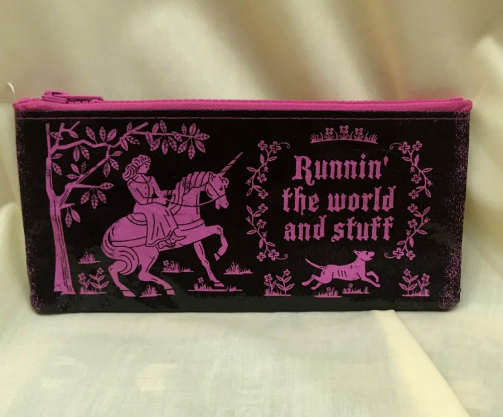Running the World Pencil Case
