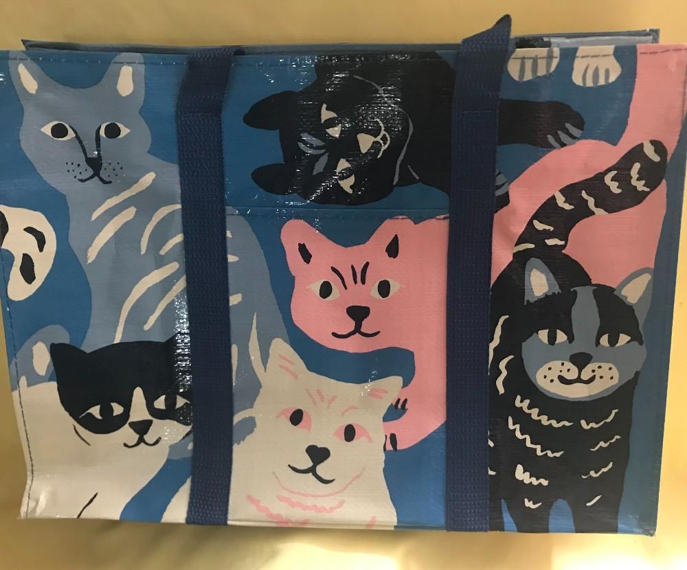 Happy Cats Shoulder Tote