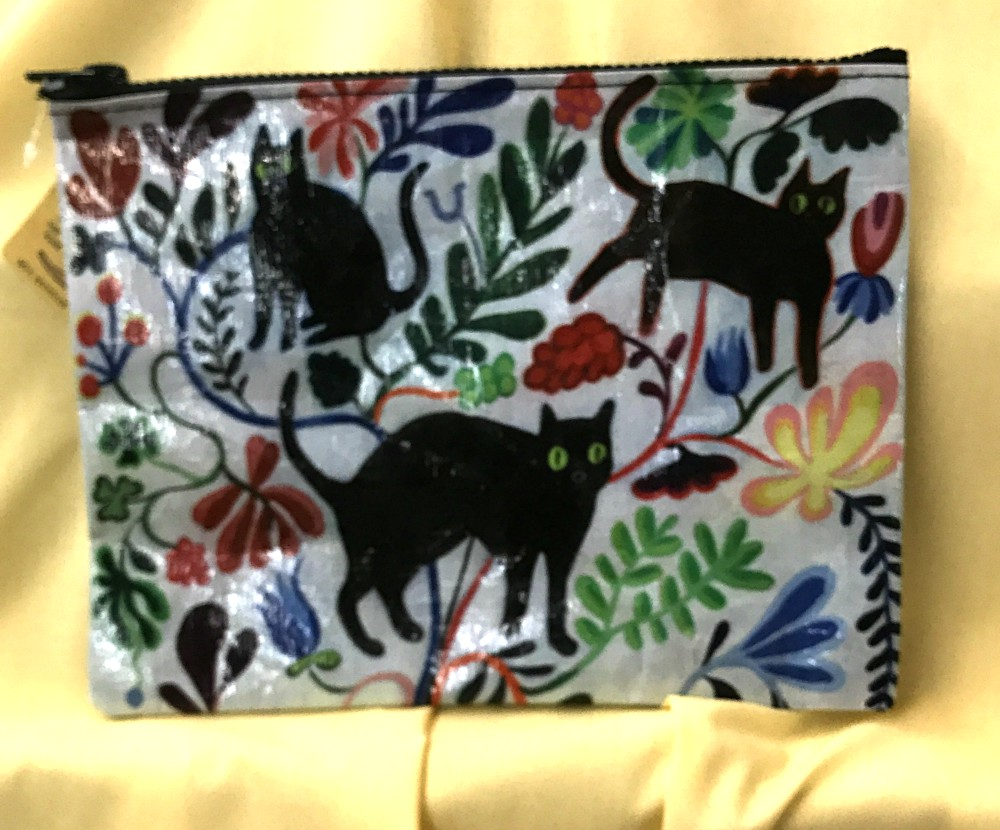 Here Kitty Zippered Pouch