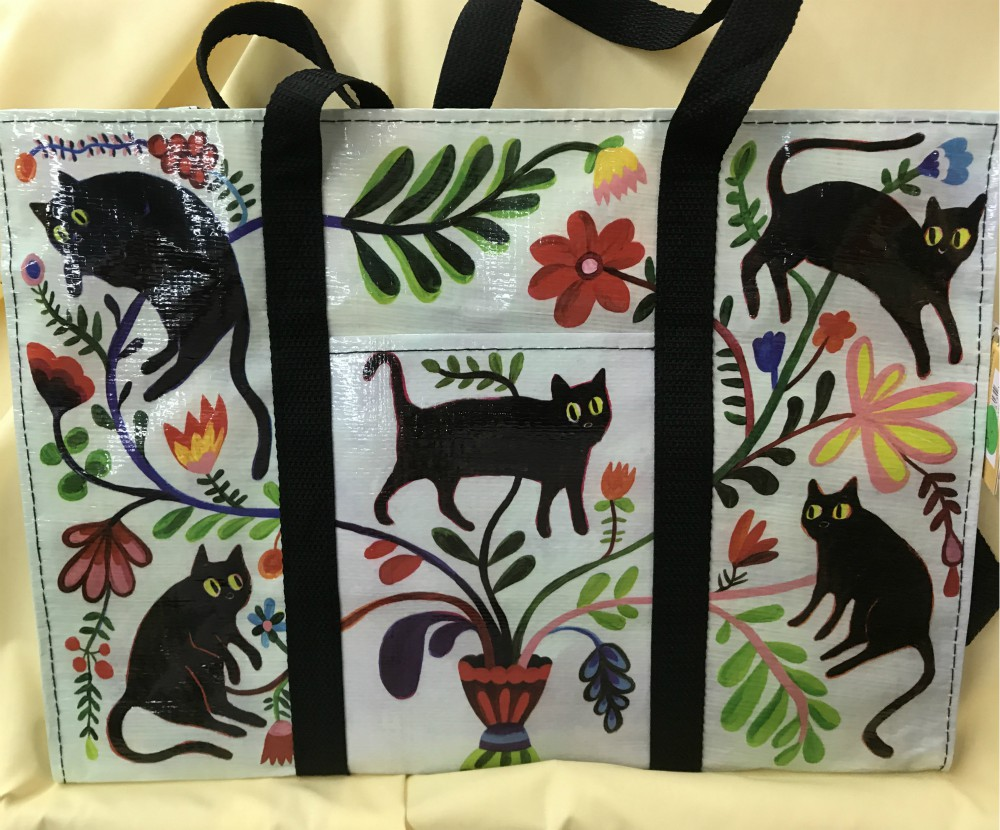 Here Kitty Shoulder Tote