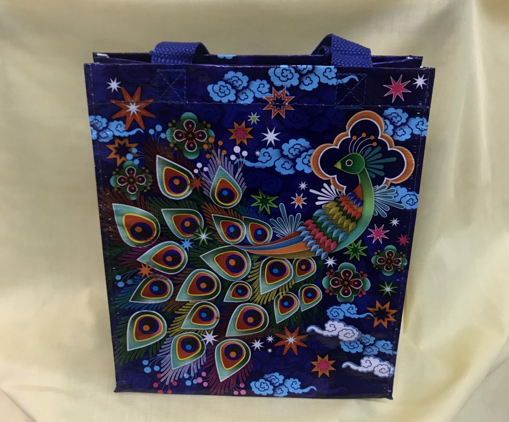 Peacock Handy Tote