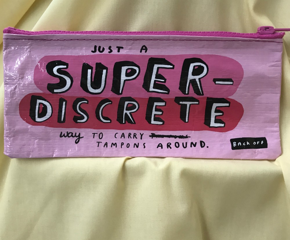 Super Discrete Pencil Case