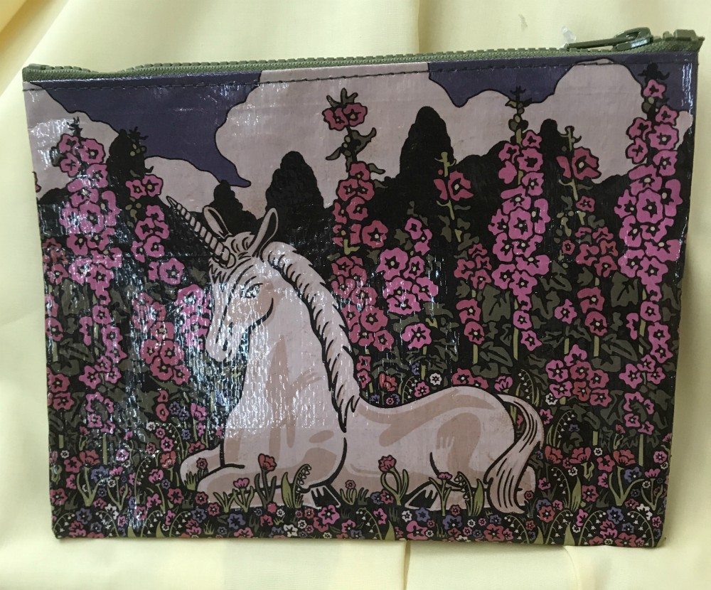 Unicorn Zippered Pouch