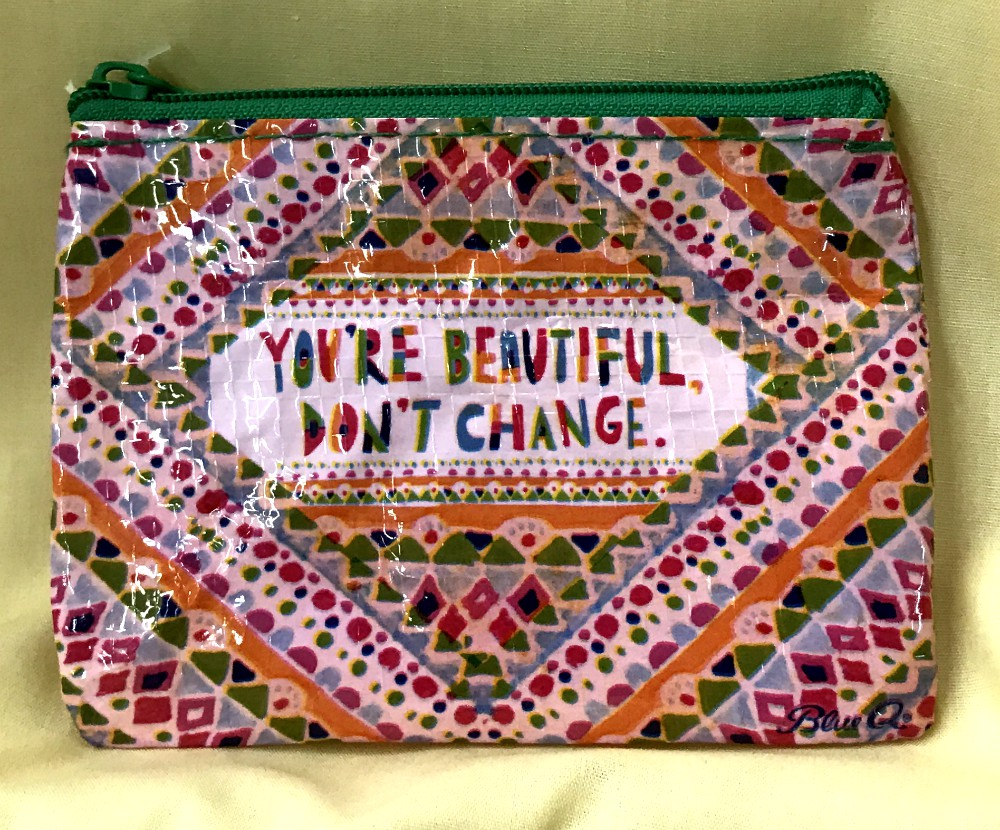 You Are Beautiful Coin Purse