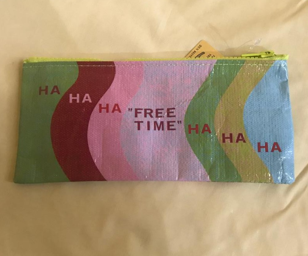 Free Time Pencil Case