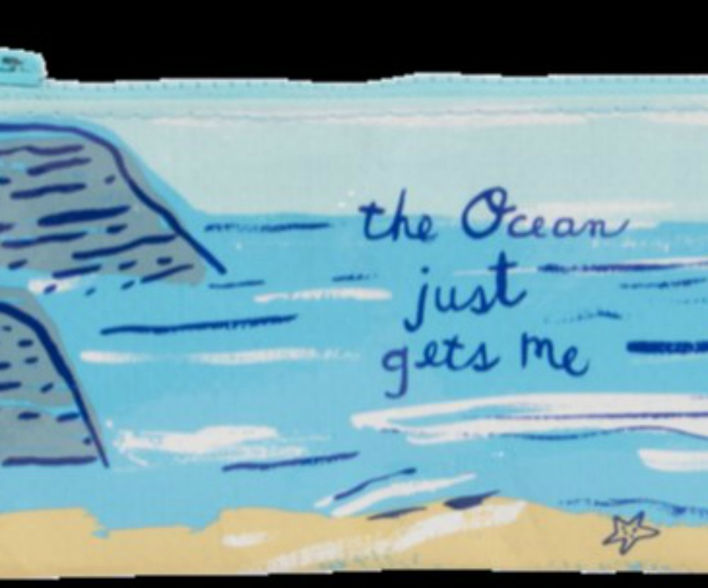 Ocean Gets Me Pencil Case