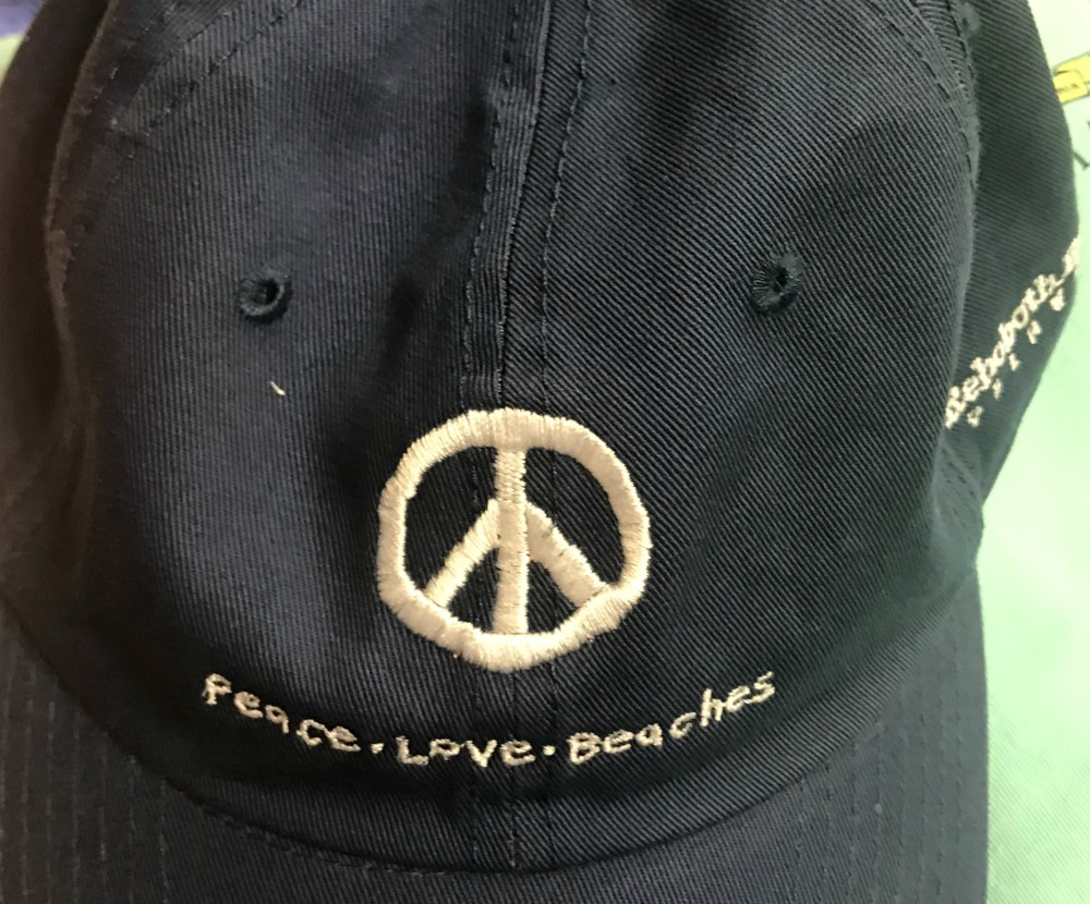 Peace Love Beaches Uni Cap