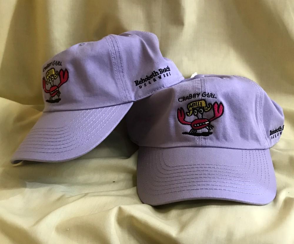 Crabby Girl Uni Cap