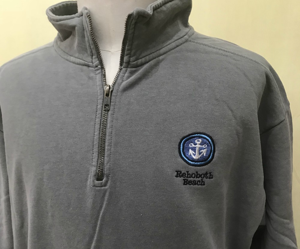 Anchor 1/4 Zip Uni SC