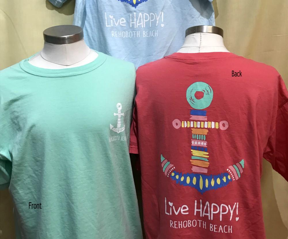 Live Happy Anchor Uni SS