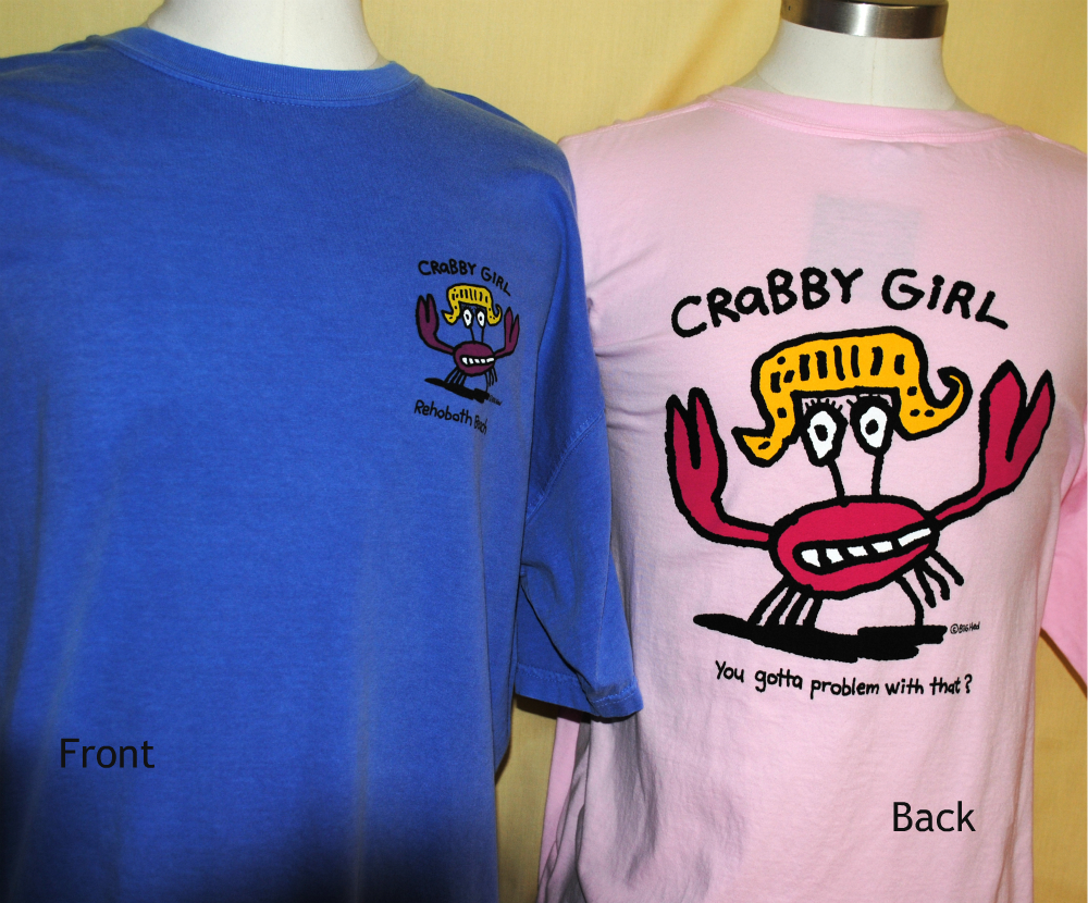 Crabby Girl Uni SS