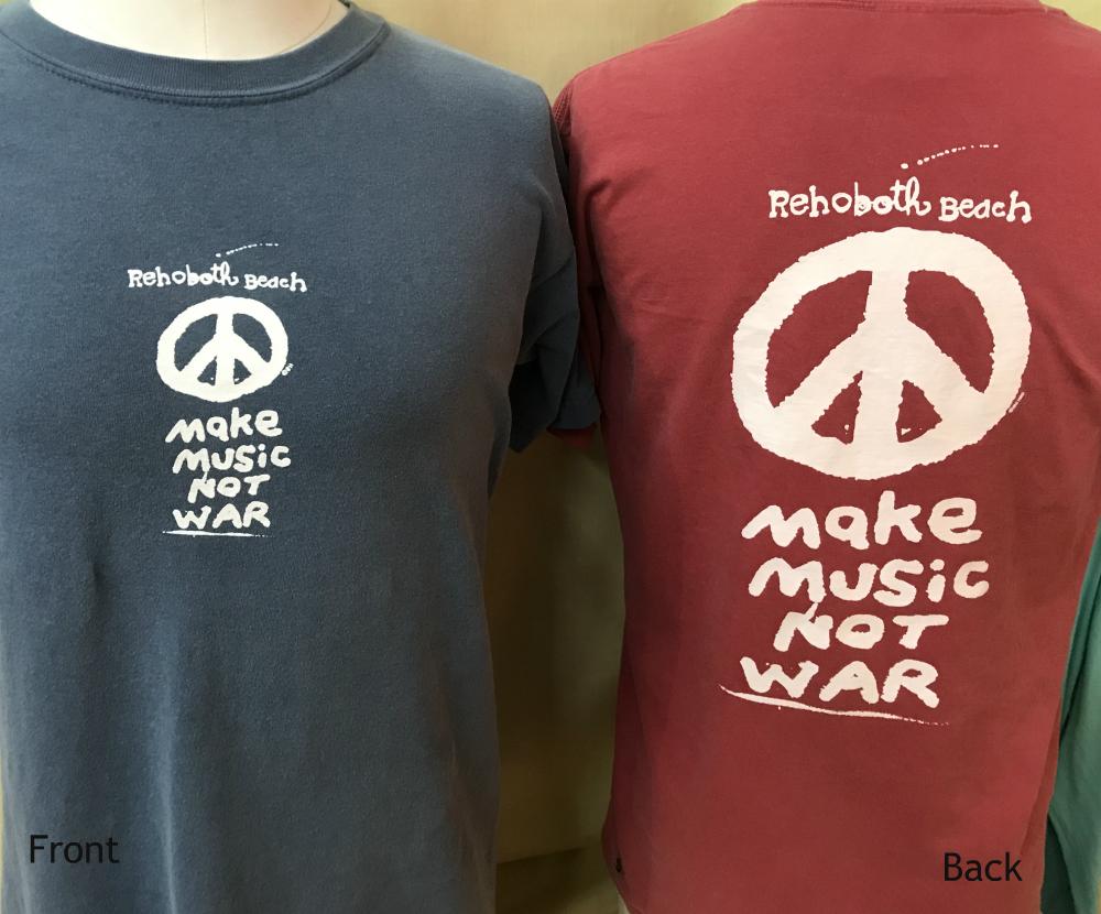 Make Music Not War Uni SS