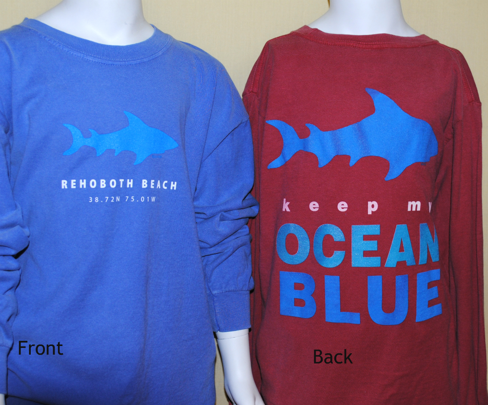 Ocean Shark Youth LS