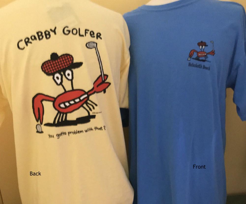 Crabby Golfer Uni SS