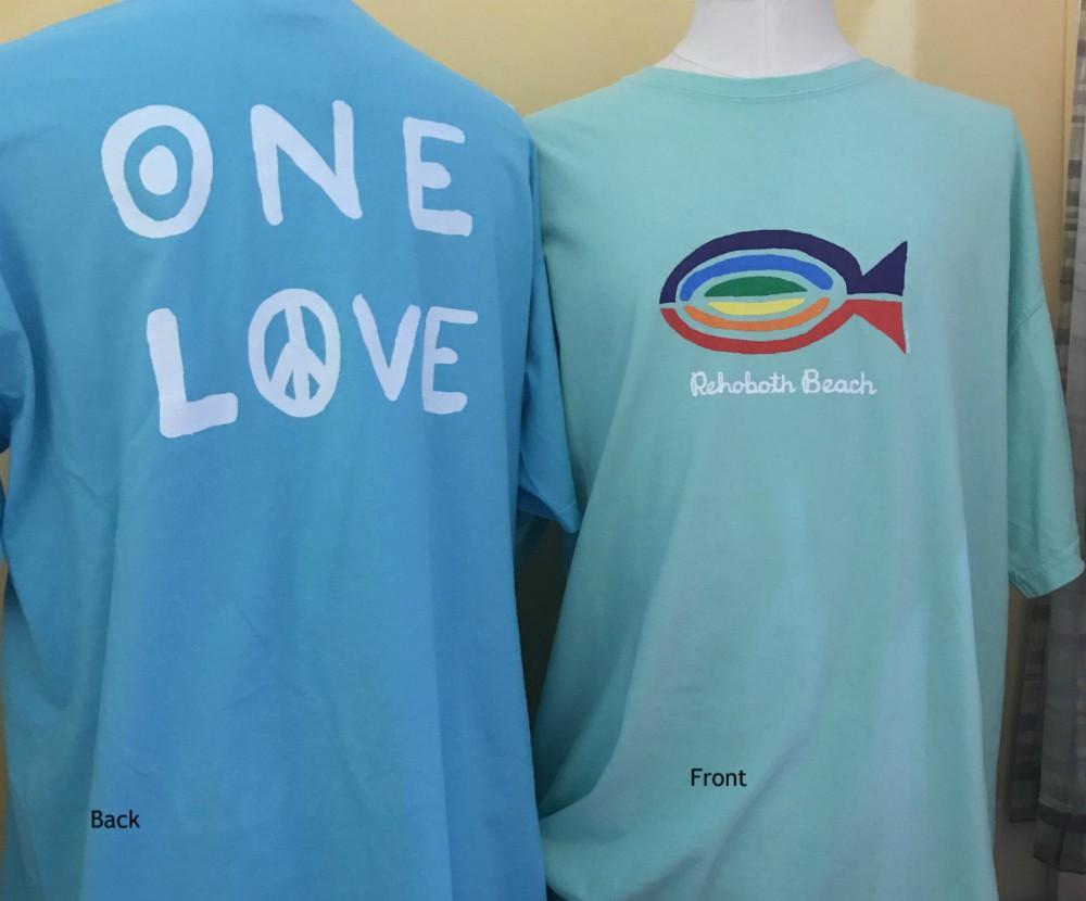 Rainbow Fish Uni SS