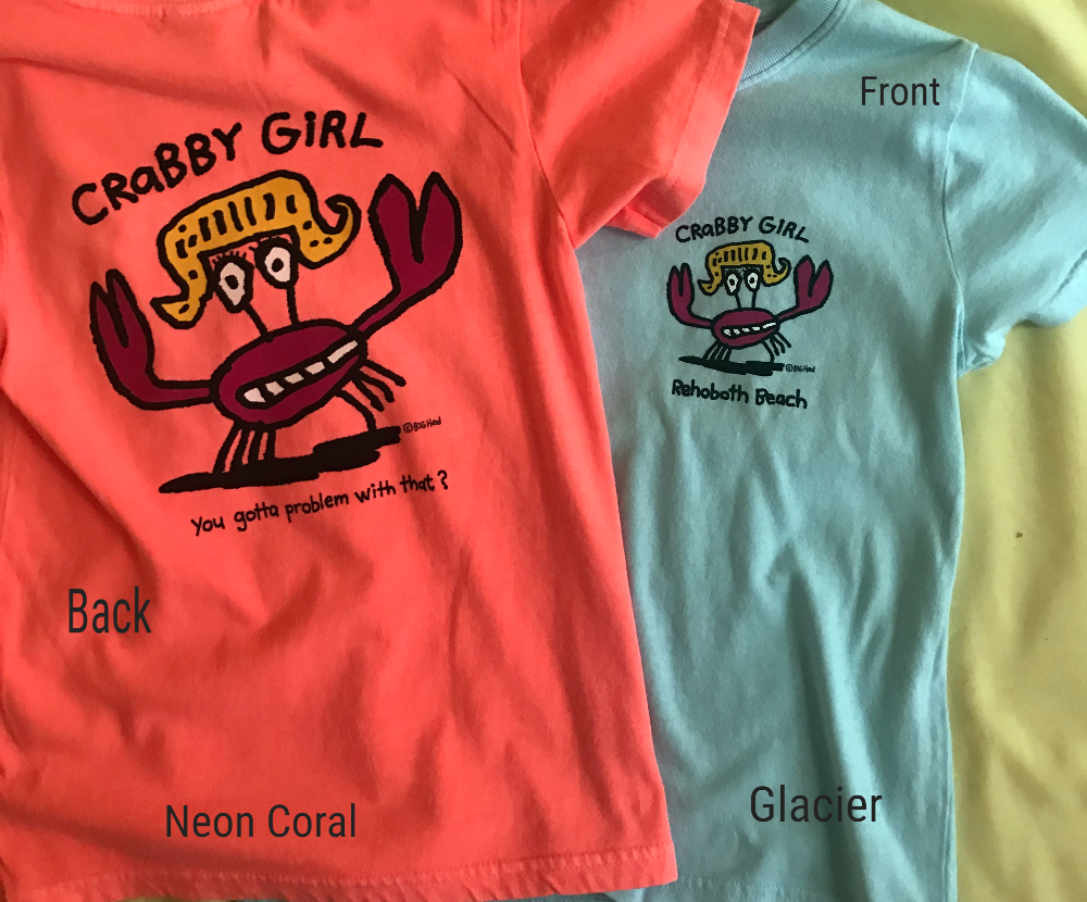 Crabby Girl Youth SS